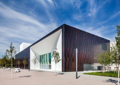 """Holz-Aluminiumfenster und Schlosserarbeiten: """"Campus One"""" Hochschule für Musik Karlsruhe"""