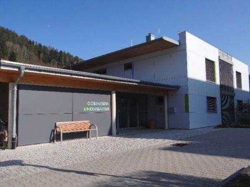 Holz-Aluminiumfenster und Aluminiumelemente: KiGa Calmbach