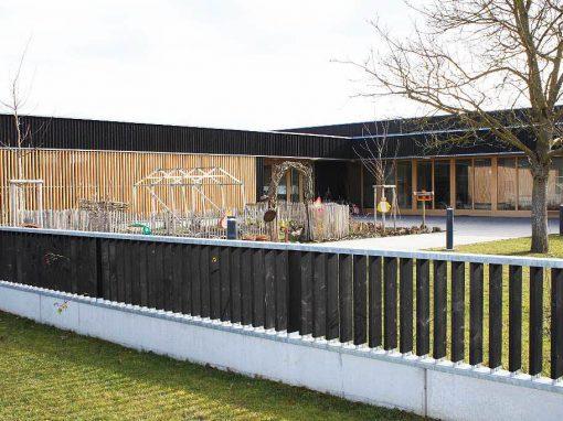 Holzfenster und Holzhaustüren sowie Holz-Aluminiumelemente: KiGa Rust