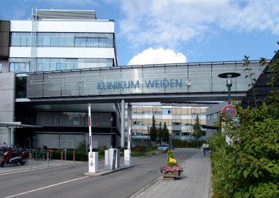 Holz-Aluminiumfenster und Aluminiumfassade: Klinikum Weiden