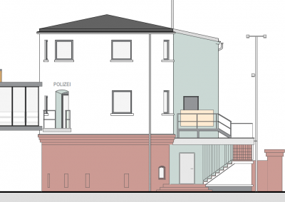 Holzfenster und Holzhaustüren: Wasserschutzpolizei Mainz-Kastel