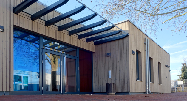 Holzfenster und Holzhaustüren: KiTa-11 Mörfelden-Walldorf