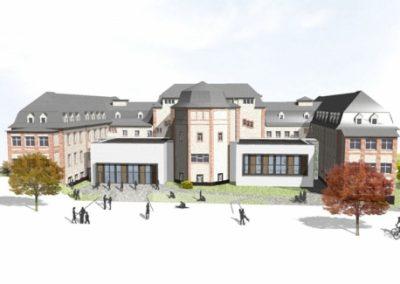 """Holzfenster und Holzhaustüren: Justus-Liebig-Universität """"Alte Chirurgie"""" Gießen"""