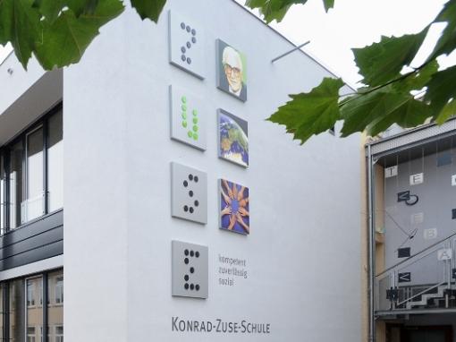Kunststofffenster: Konrad-Zuse-Schule Hünfeld