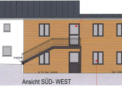 Holz-Aluminiumfenster: Bauhof Straubing-Bogen