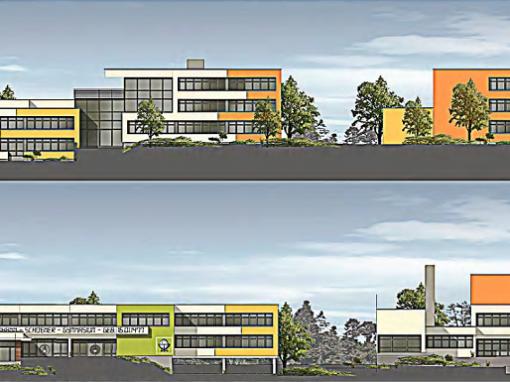 Holz-Aluminiumfensterelemente: Johann-Schöner-Gymnasium Karlstadt