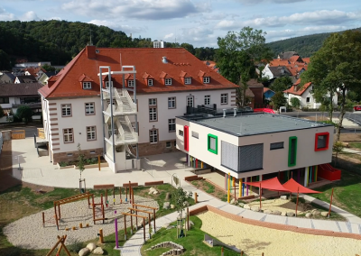 Innentüren: Kindertagesstätte und Familienzentrum Rotenburg a.d.F.